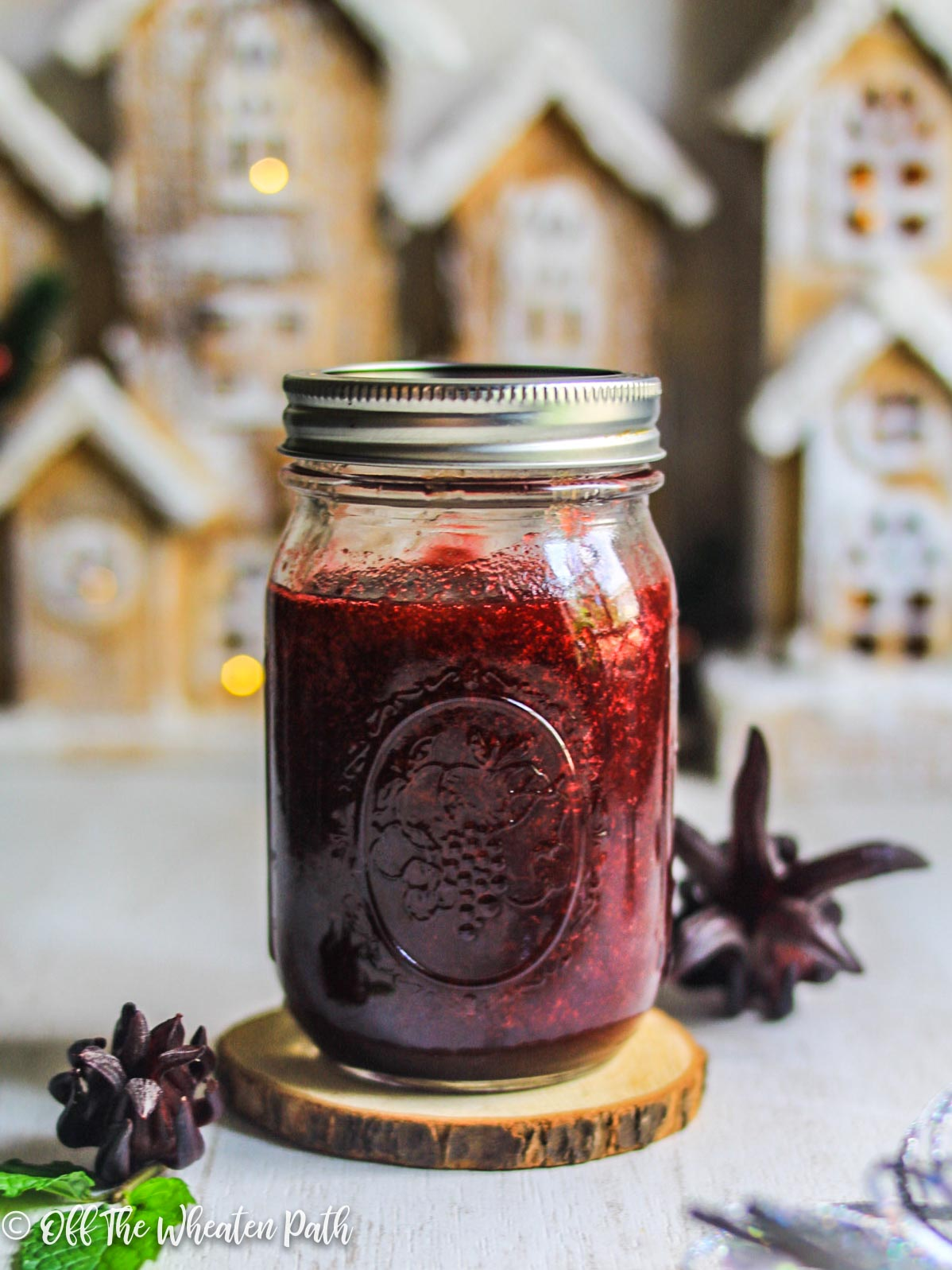 Sorrel or Roselle or Hibiscus Jam